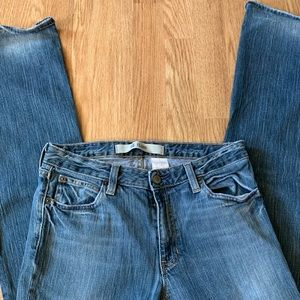 Gap Flare Denim Blue Jeans